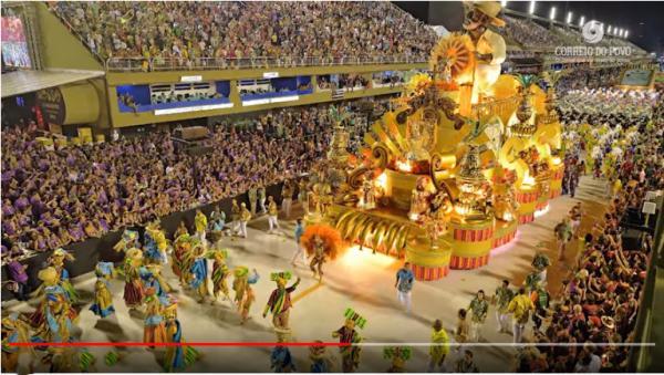 Desfile da escola Paraíso do Tuiuti repercute nas redes sociais