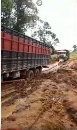 São Félix do Xingu: Sem manutenção, estradas na zona rural continuam gerando prejuízo