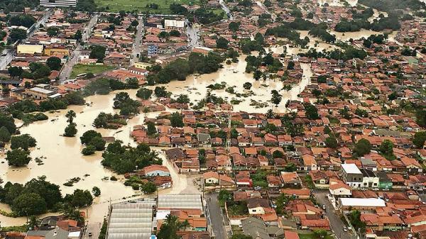 Veja imagens do alagamento na cidade de Paragominas